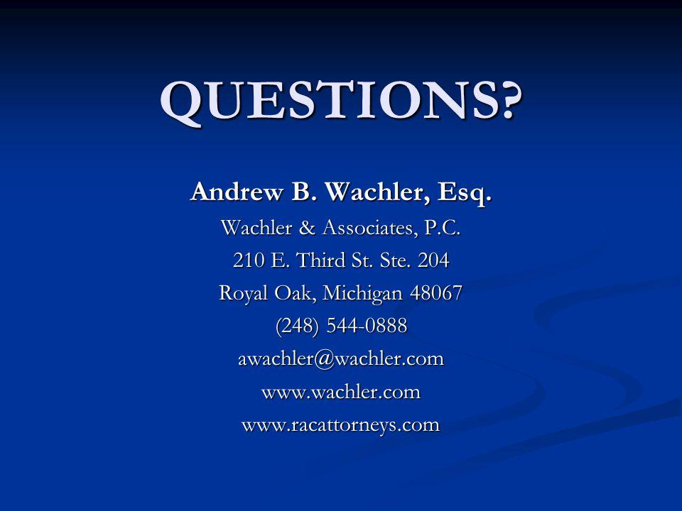 Wachler & Associates, P.C.