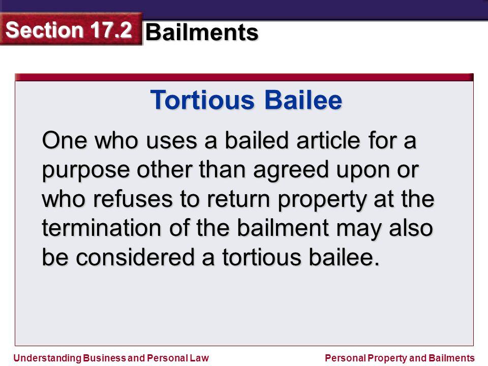 Tortious Bailee