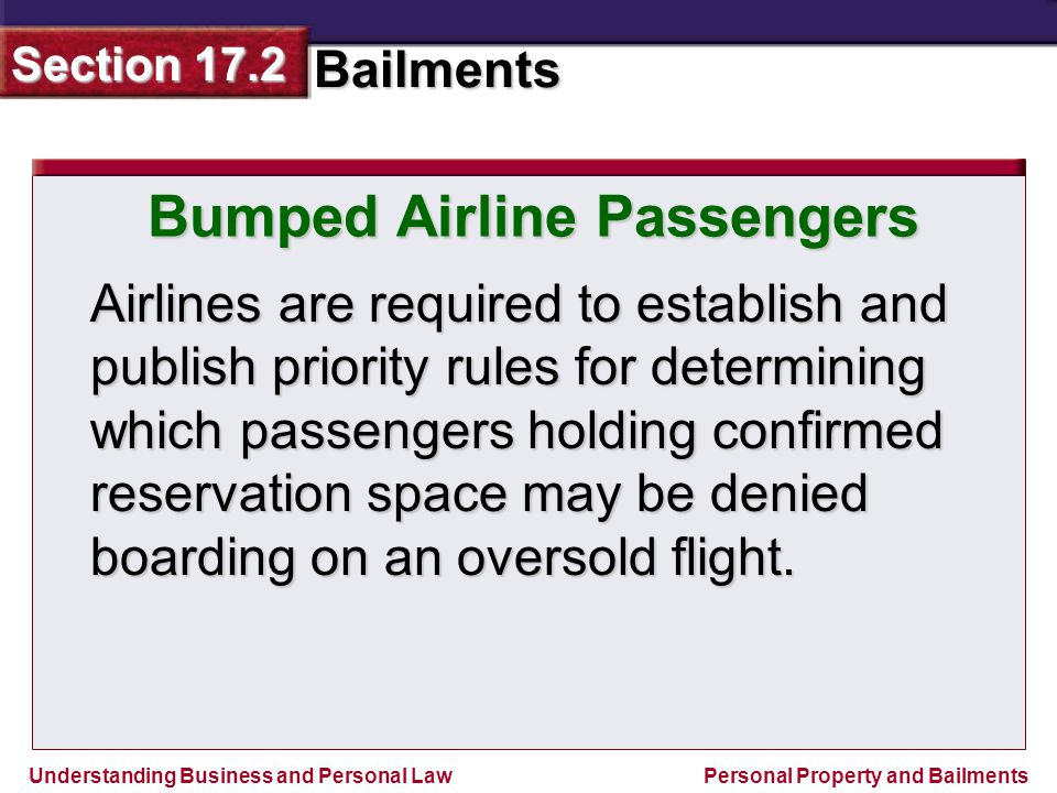 Bumped Airline Passengers