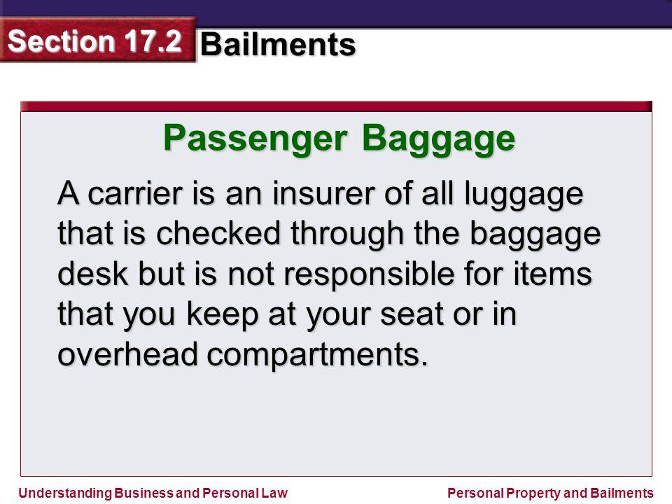 Passenger Baggage
