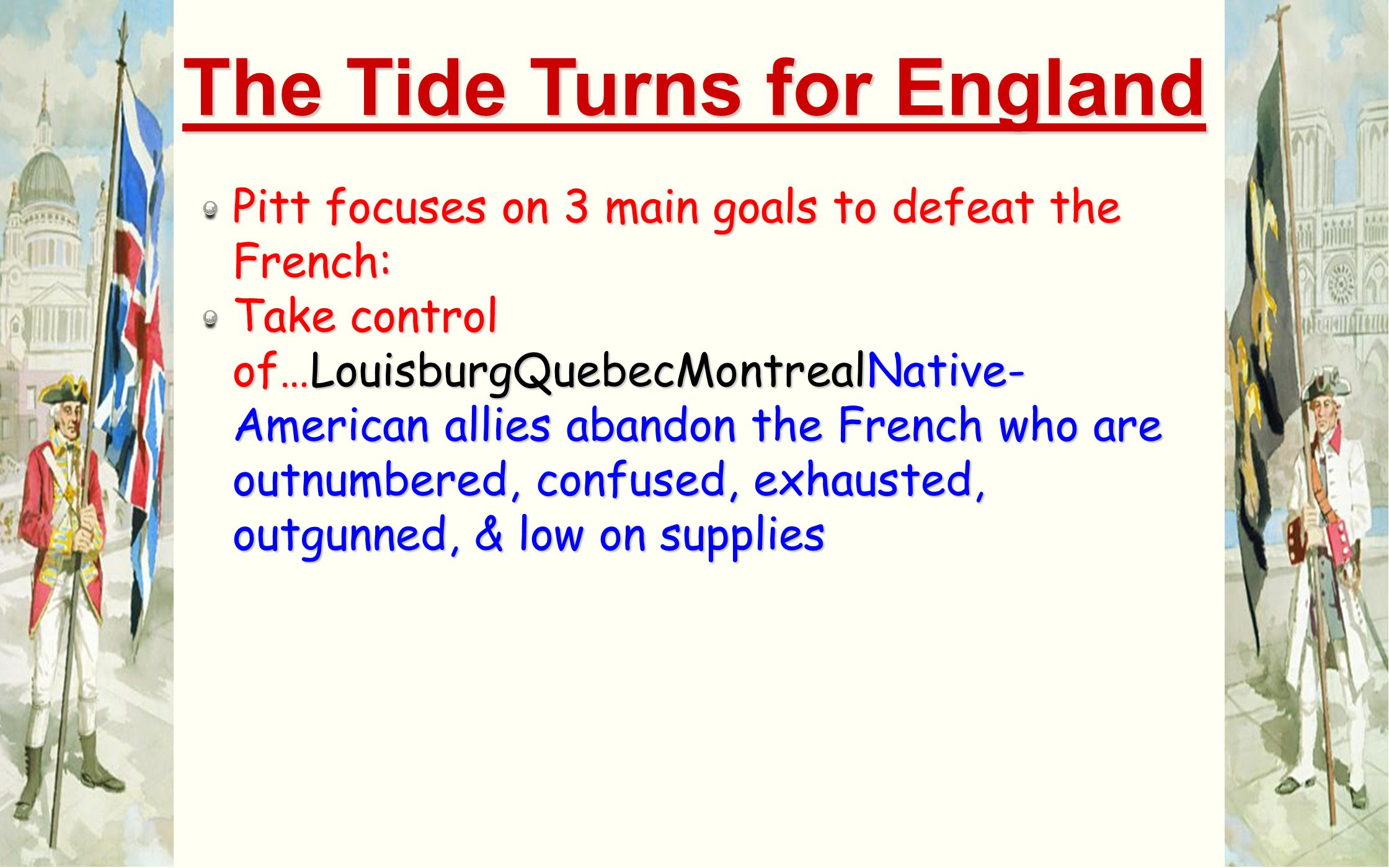 The Tide Turns for England