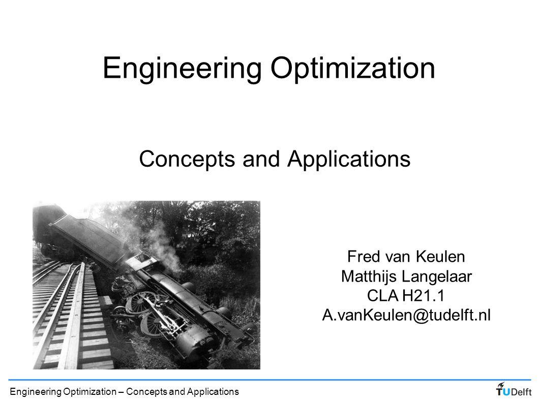 Engineering Optimization