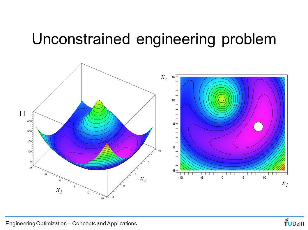 Unconstrained engineering problem