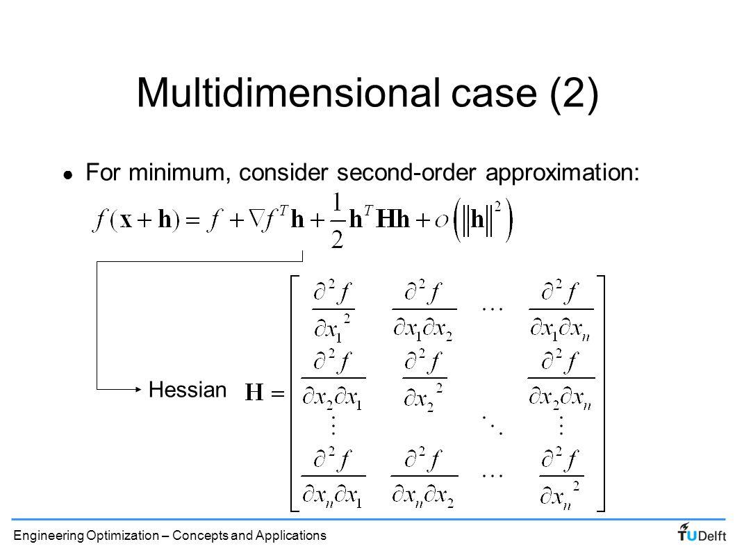Multidimensional case (2)
