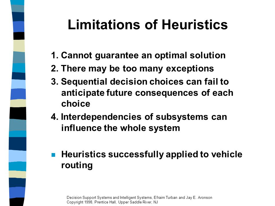 Limitations of Heuristics