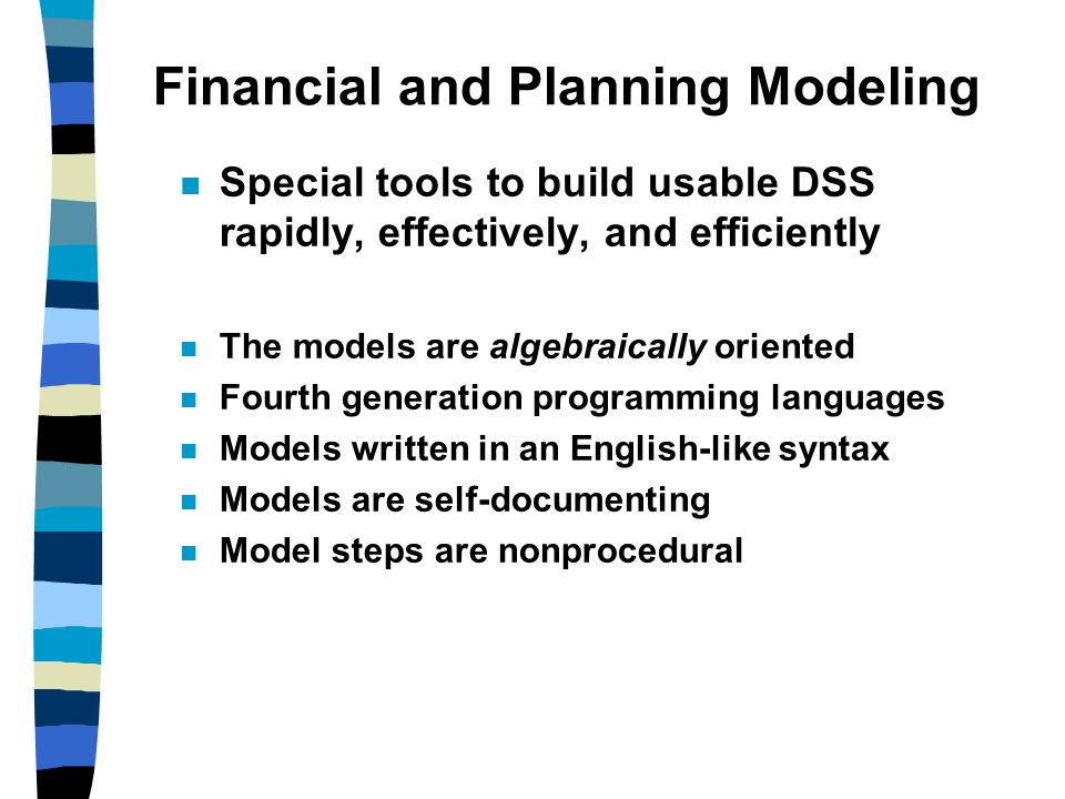 Financial and Planning Modeling
