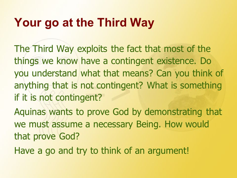 Your go at the Third Way