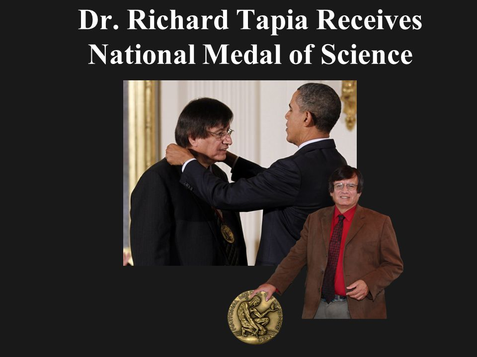 Dr. Richard Tapia Receives National Medal of Science