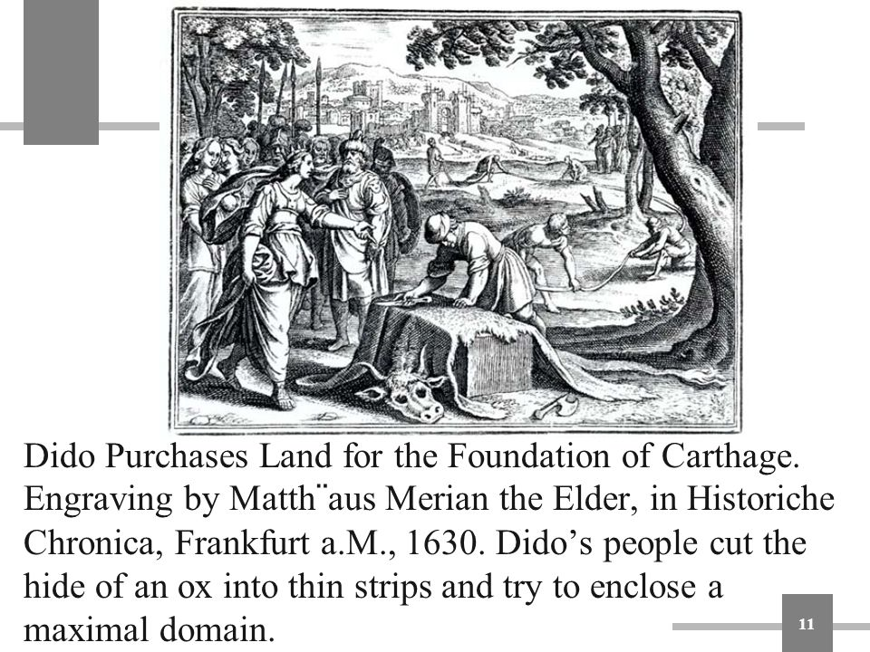 Dido Purchases Land for the Foundation of Carthage