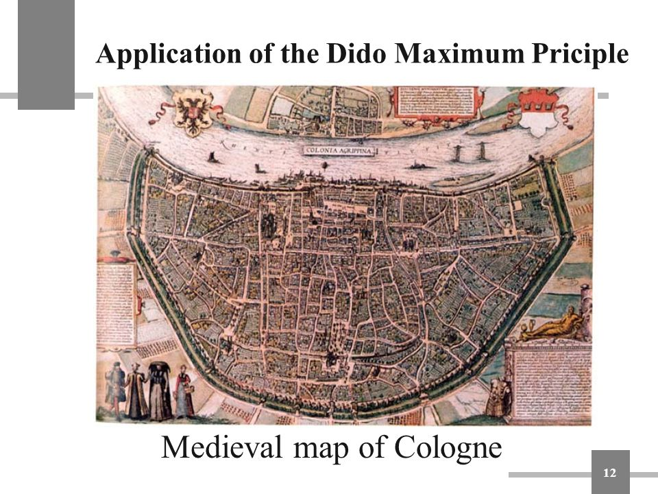 Application of the Dido Maximum Priciple
