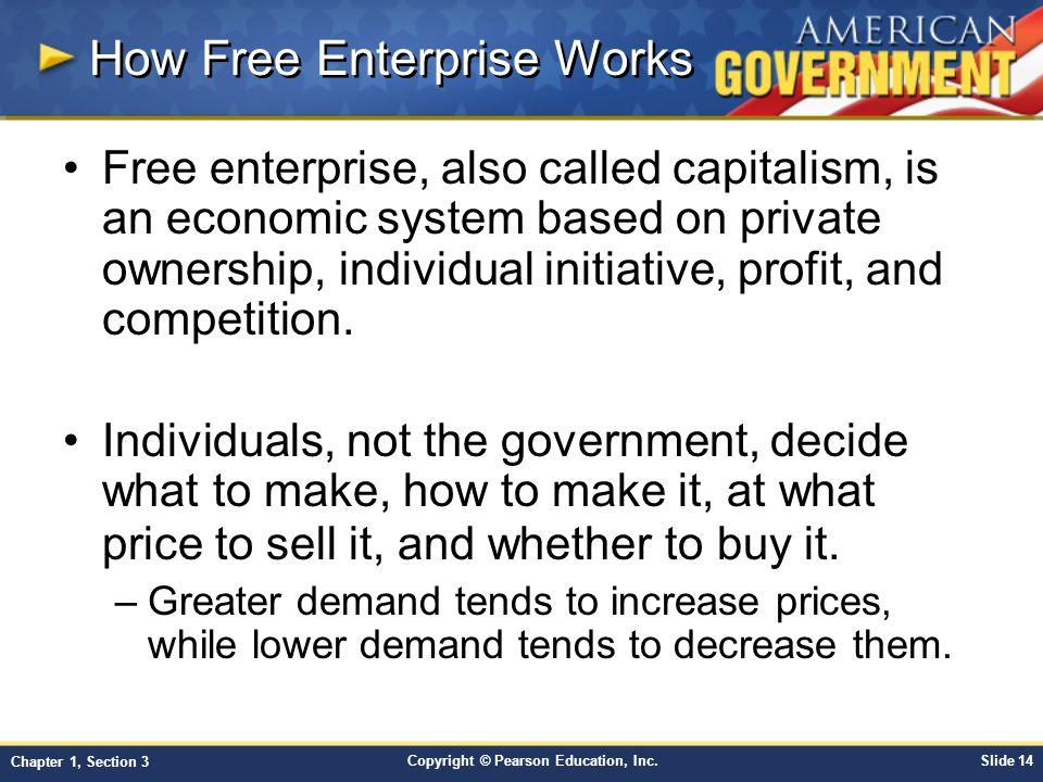 How Free Enterprise Works