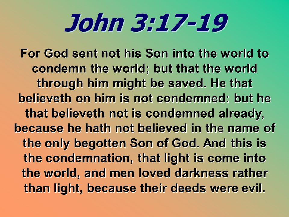 John 3:17-19