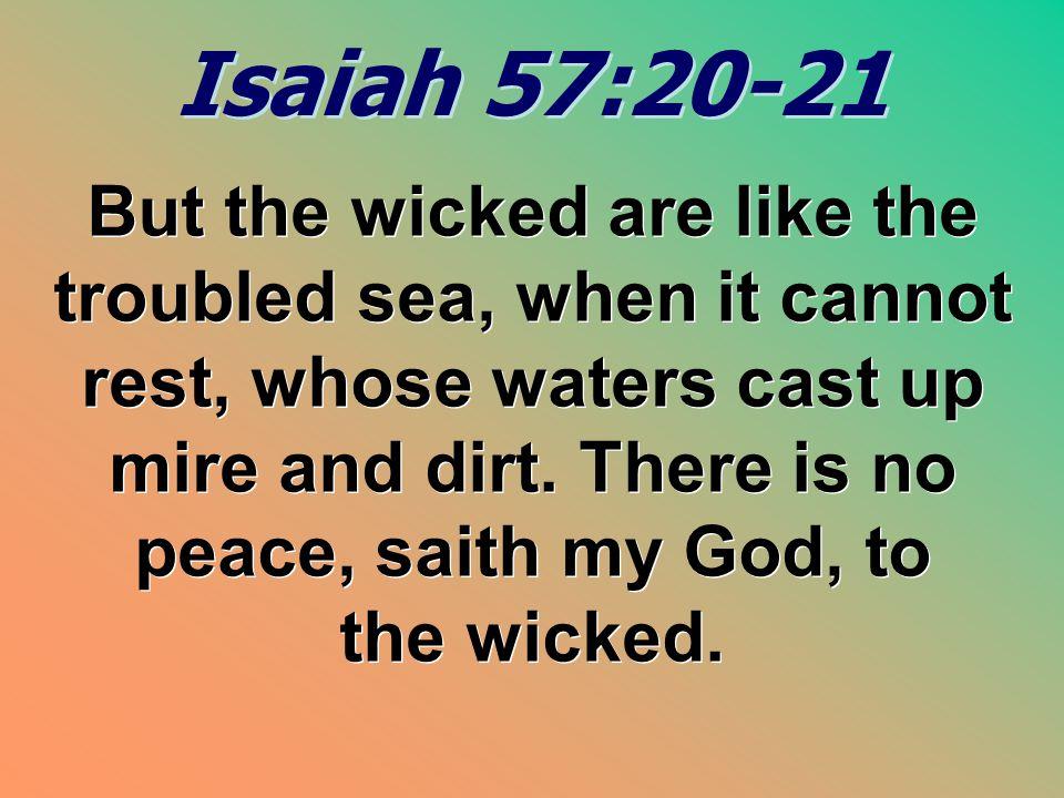 Isaiah 57:20-21