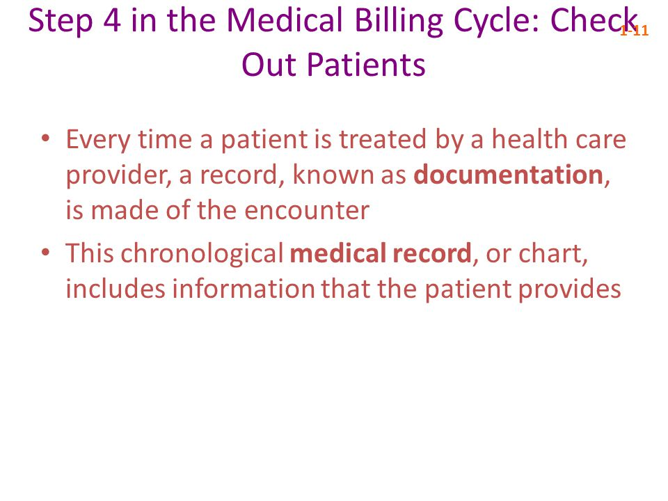 Step 4 in the Medical Billing Cycle: Check Out Patients