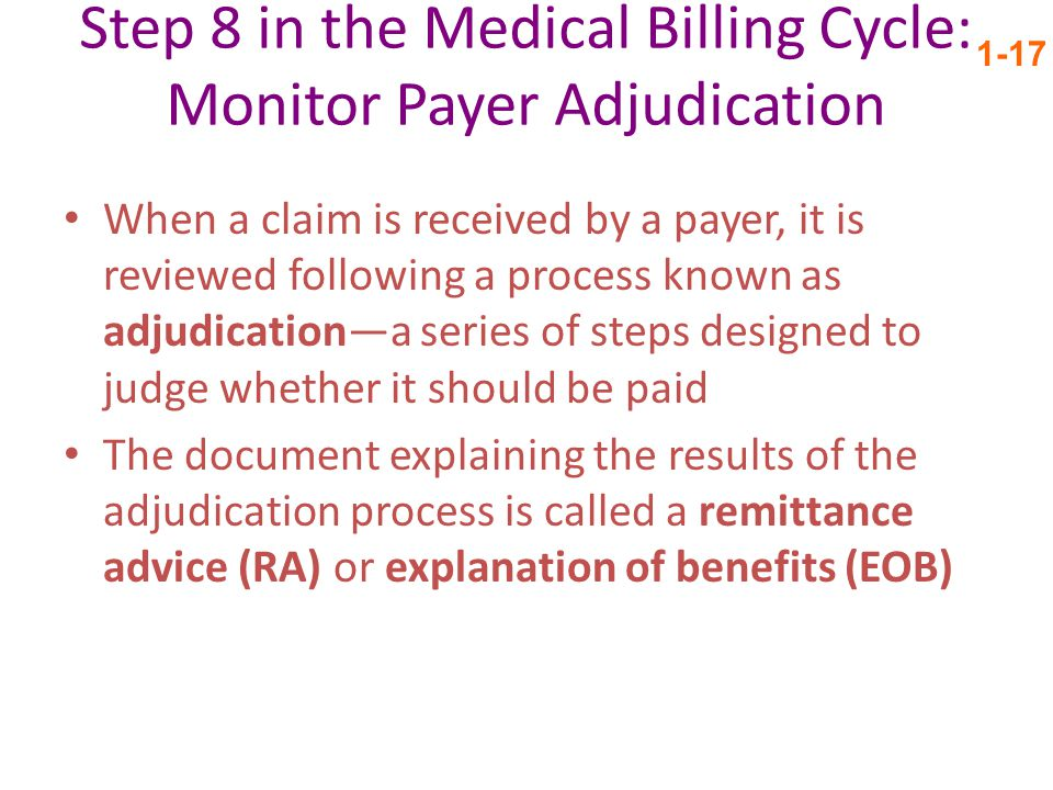 Step 8 in the Medical Billing Cycle: Monitor Payer Adjudication