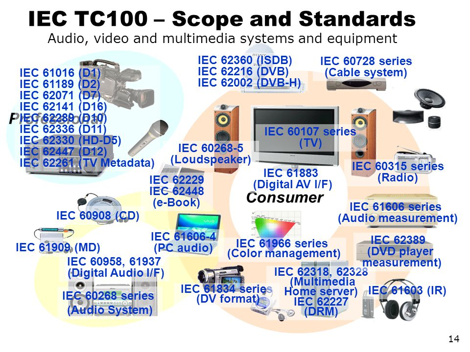 IEC TC100 – Scope and Standards