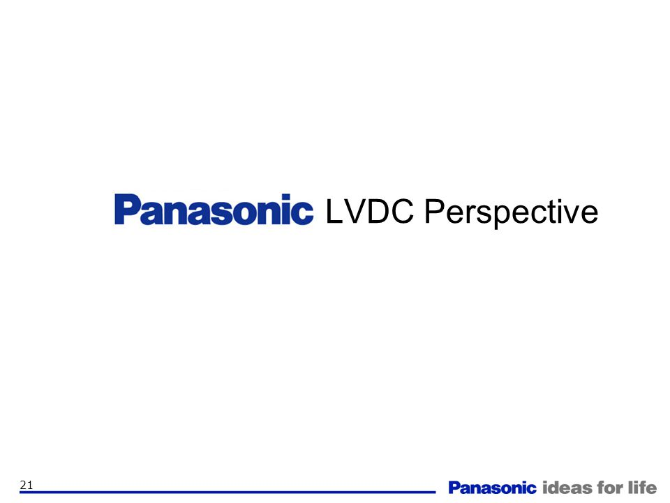 LVDC Perspective
