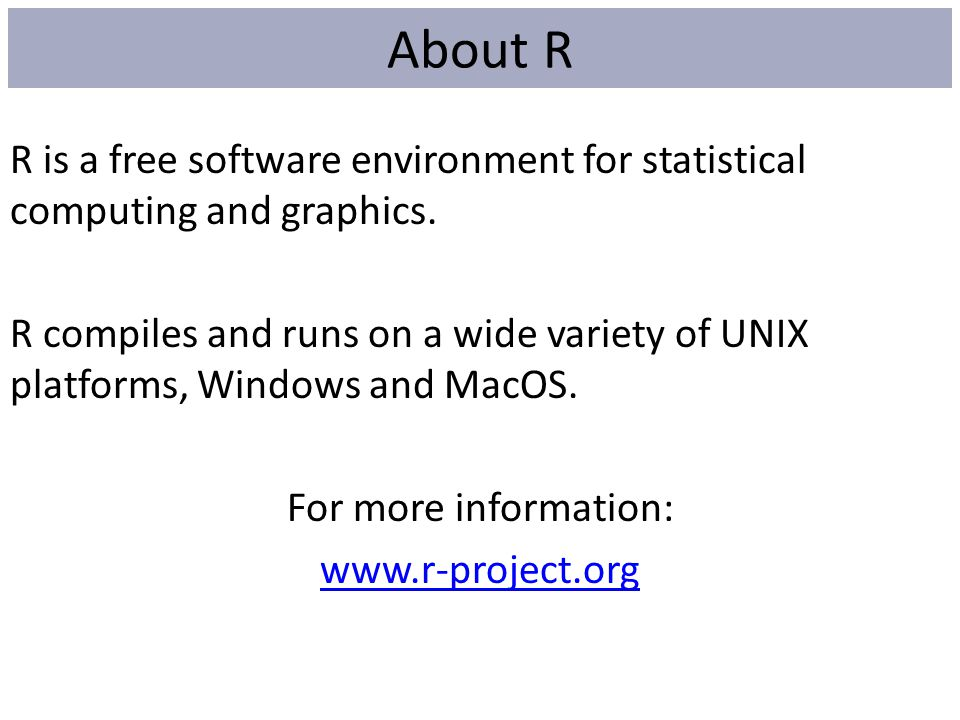 About R
