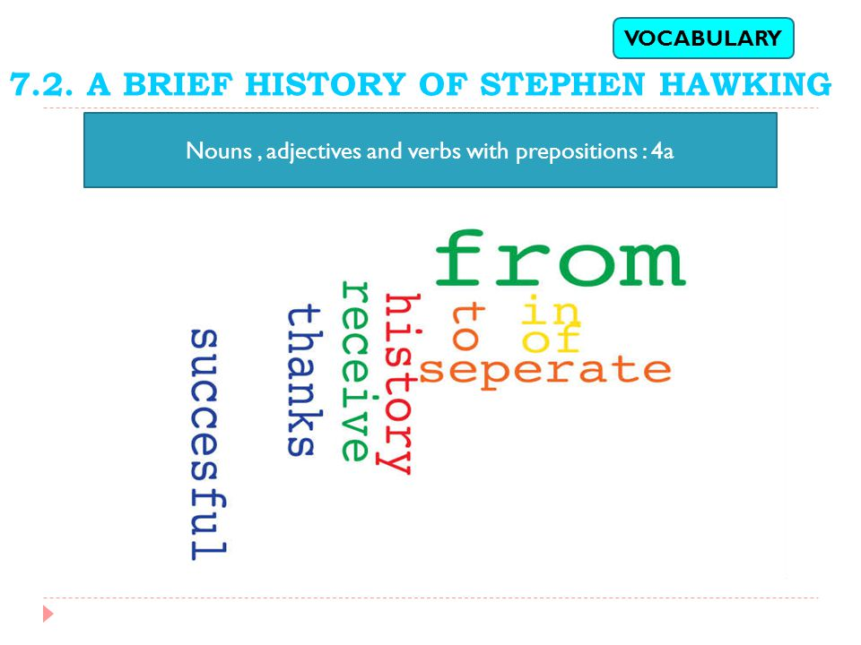 7.2. A BRIEF HISTORY OF STEPHEN HAWKING