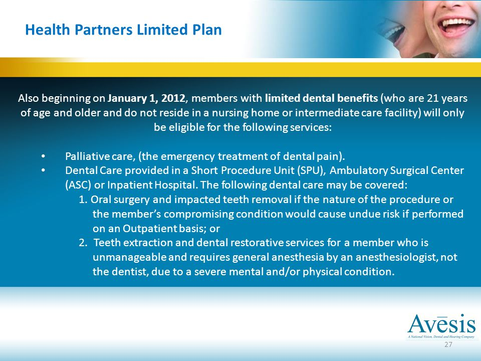 Health Partners Limited Plan