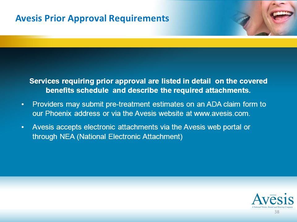 Avesis Prior Approval Requirements