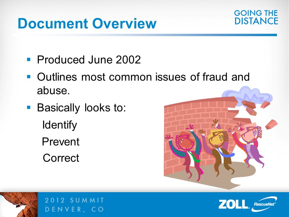Document Overview Produced June 2002
