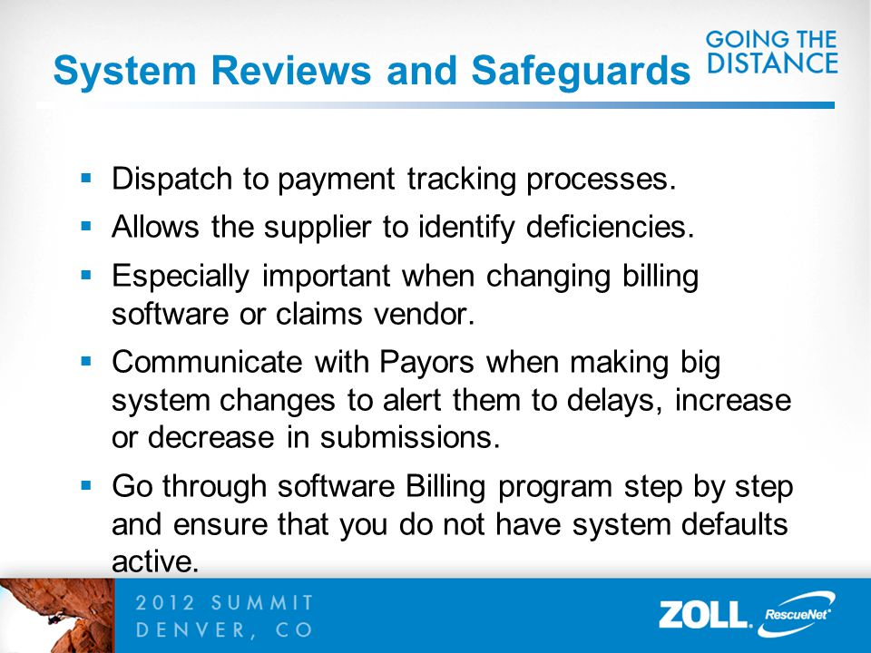 System Reviews and Safeguards