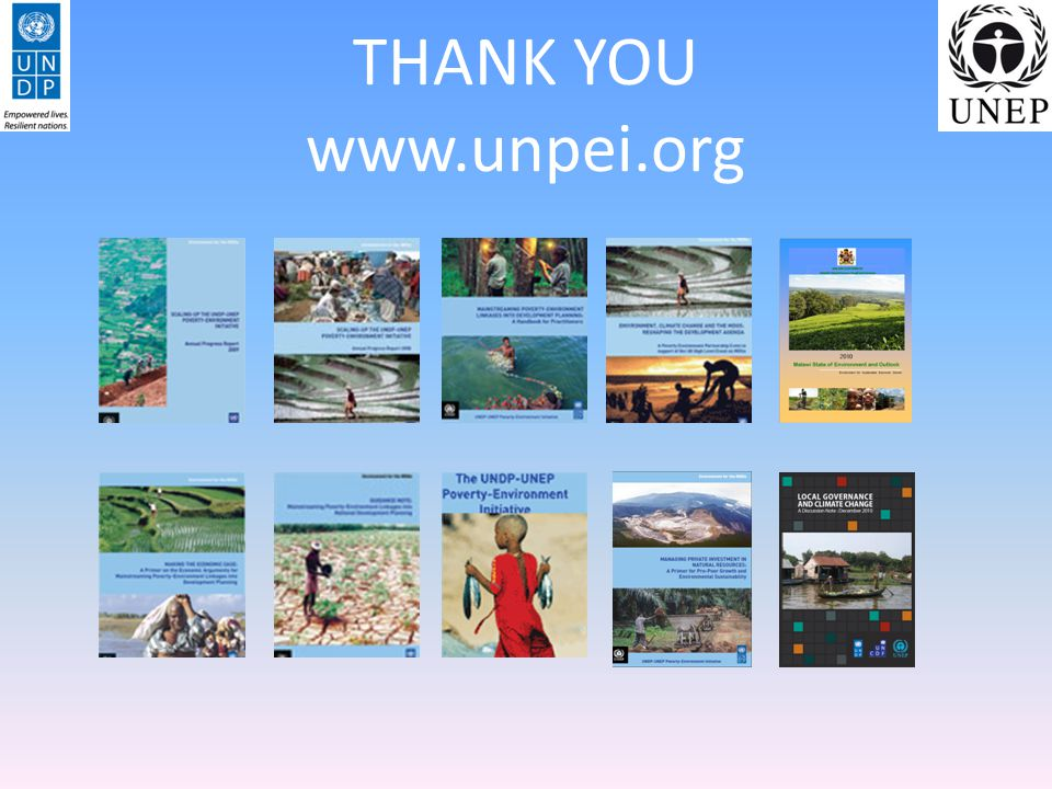 THANK YOU www.unpei.org