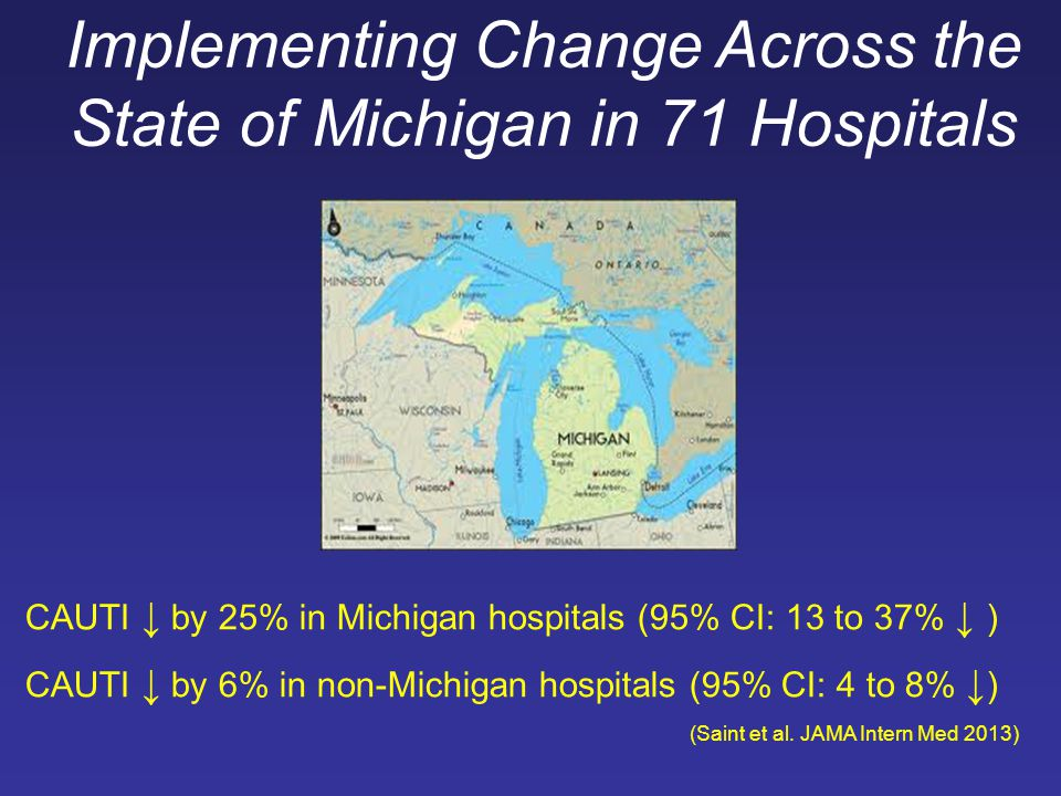 Implementing Change Across the State of Michigan in 71 Hospitals