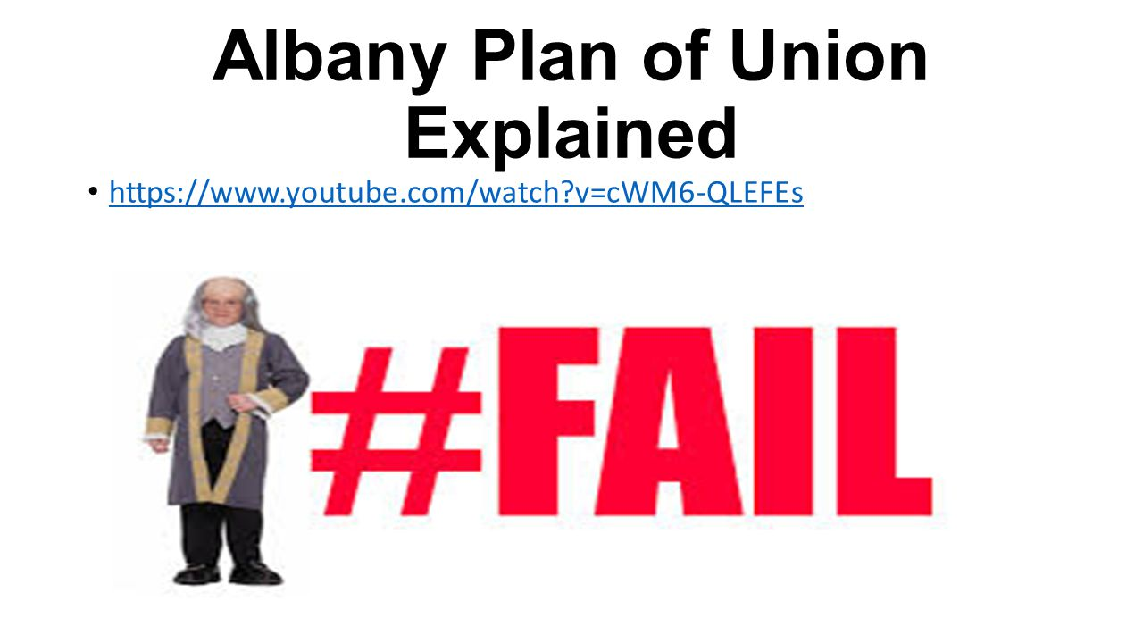Albany Plan of Union Explained