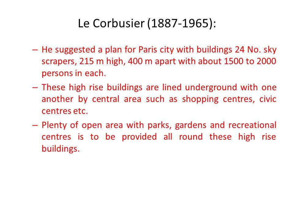 Le Corbusier (1887-1965):