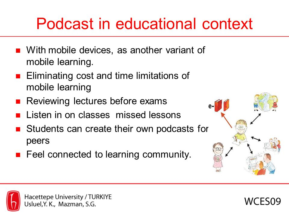 Podcast in educational context