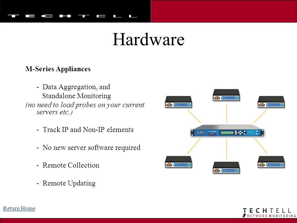Hardware M-Series Appliances - Data Aggregation, and