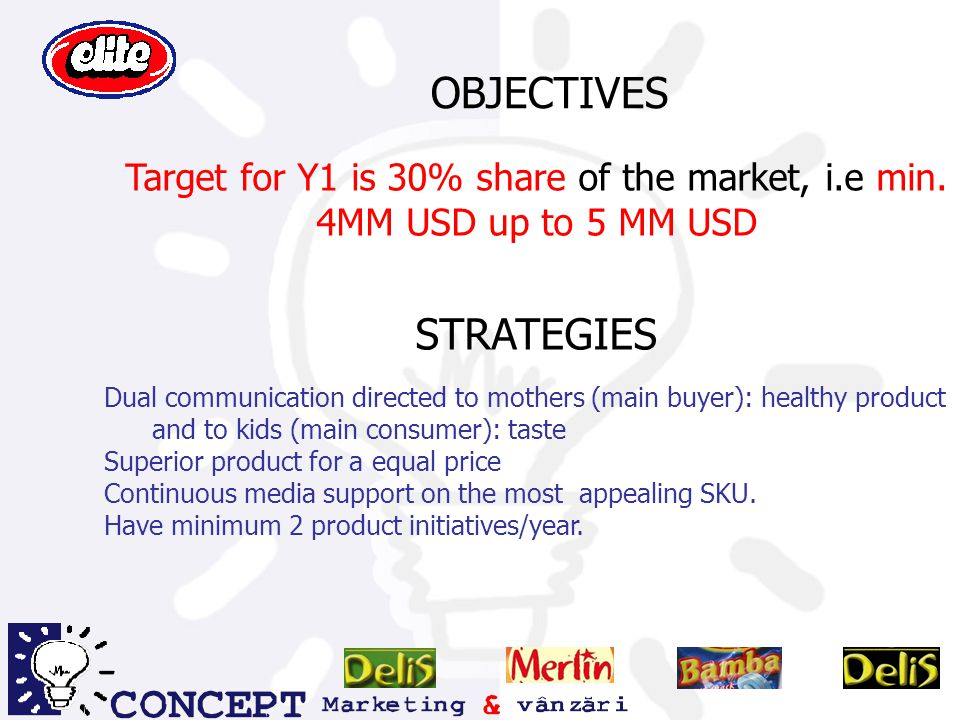 OBJECTIVES STRATEGIES