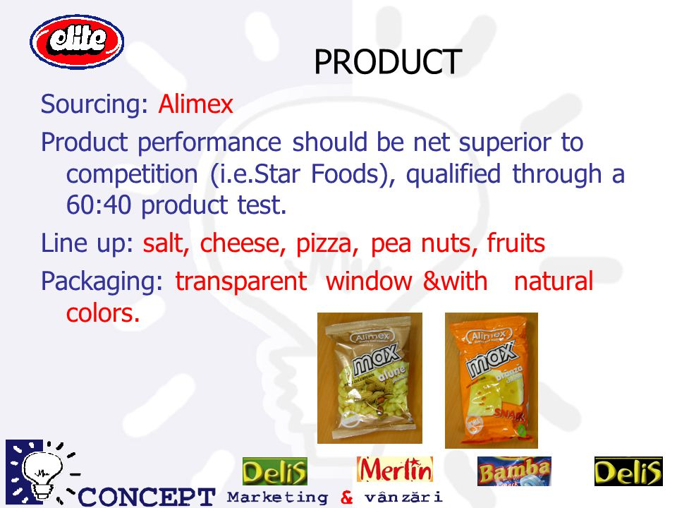 PRODUCT Sourcing: Alimex