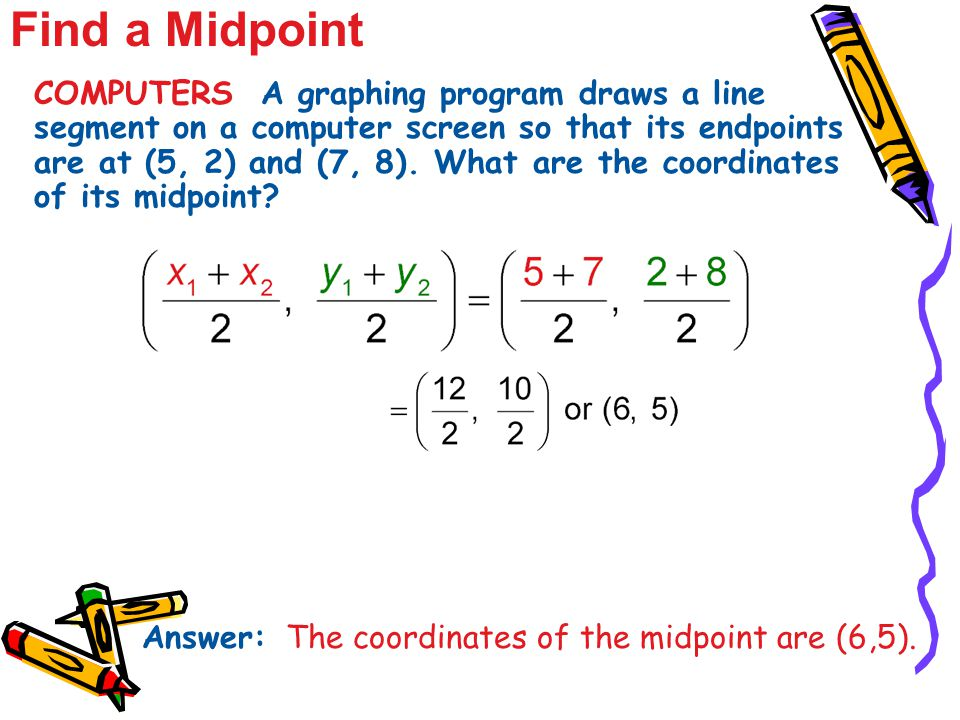 Find a Midpoint