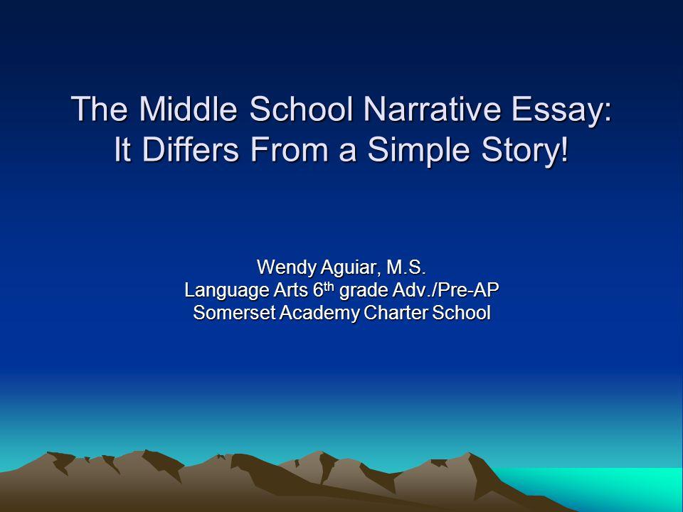 6th grade tennessee narrative essay