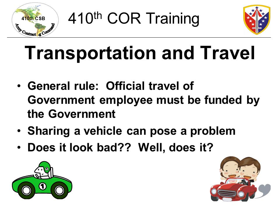 Transportation and Travel