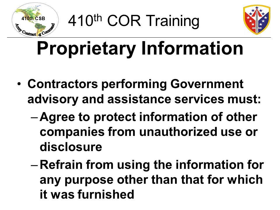 Proprietary Information