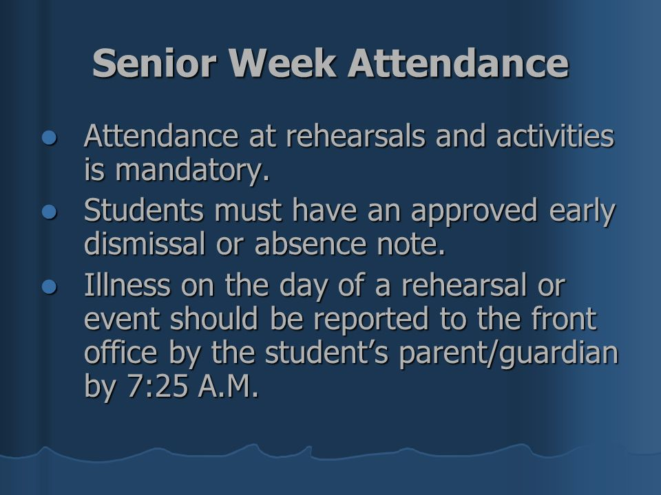 Should class attendance be required