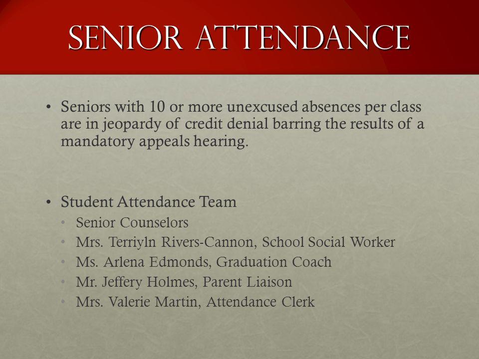 Senior Attendance
