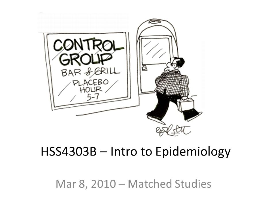 HSS4303B – Intro to Epidemiology