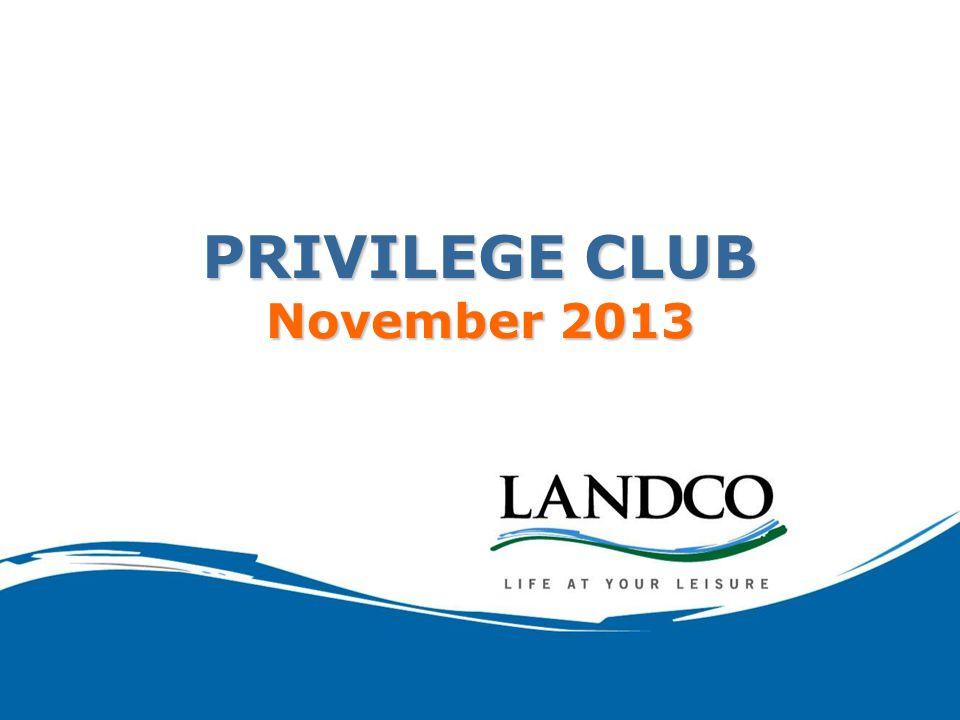 PRIVILEGE CLUB November 2013