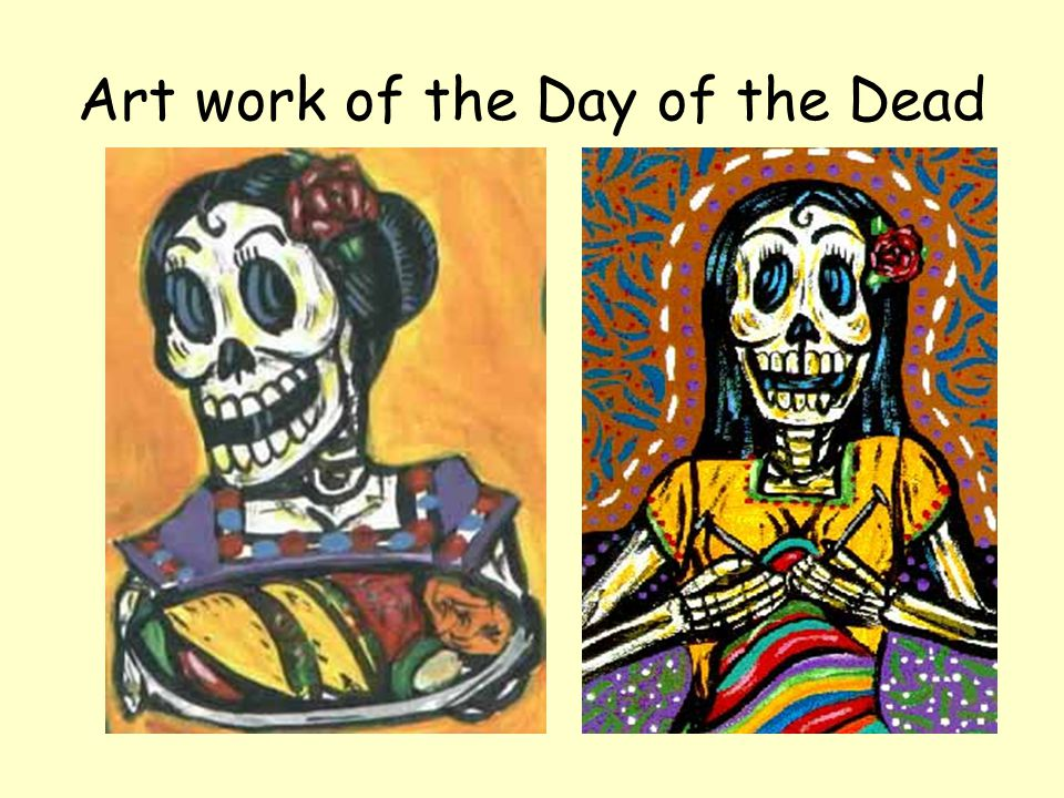 Art work of the Day of the Dead