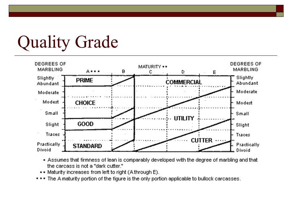 Quality Grade