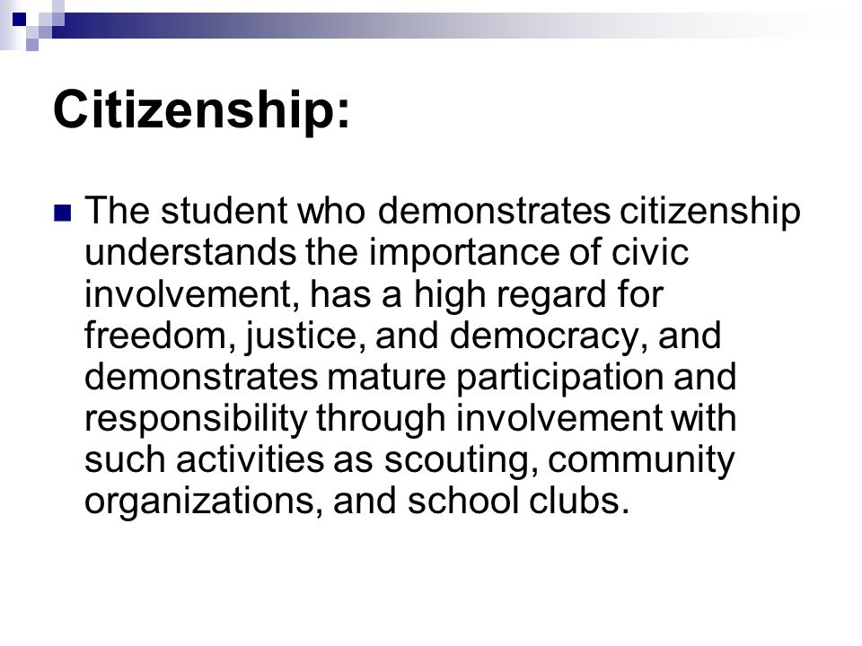 Citizenship: