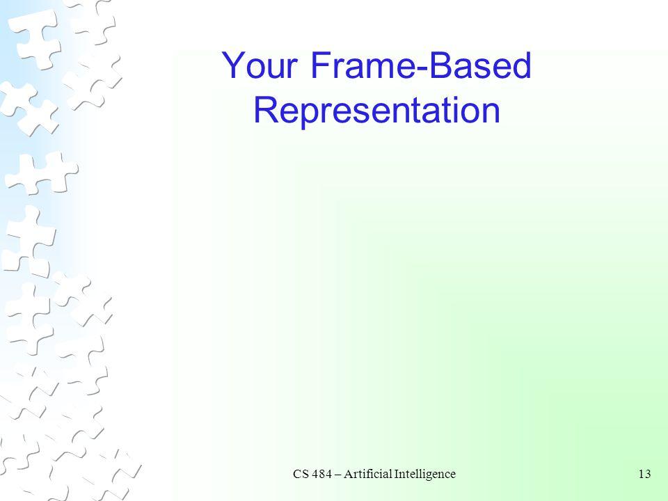 Your Frame-Based Representation