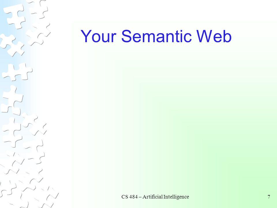 CS 484 – Artificial Intelligence
