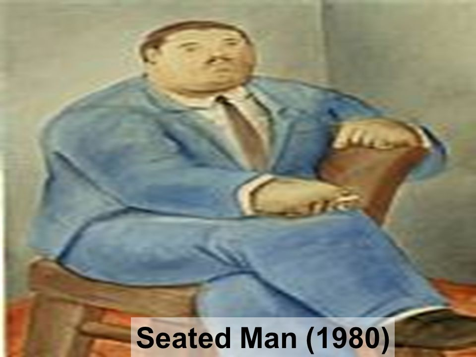 Seated Man (1980)