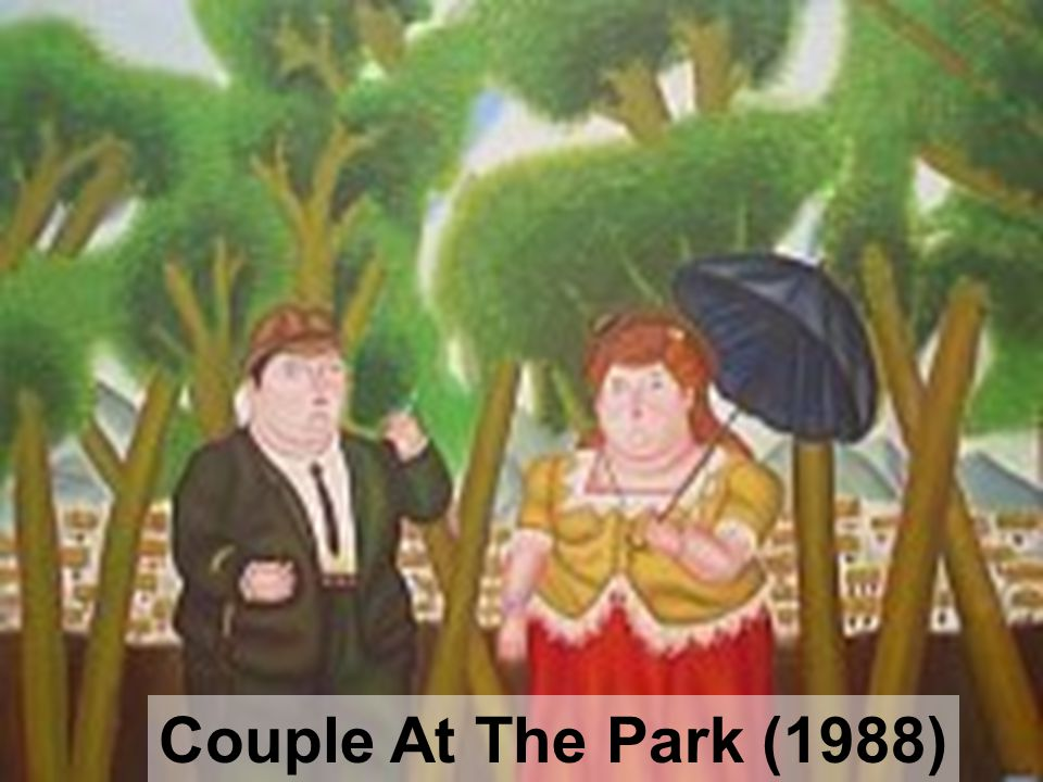 Couple At The Park (1988)